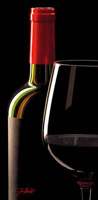 Winery Photograph - Red by Jon Neidert