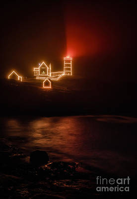 Red Nubble Print by Scott Thorp