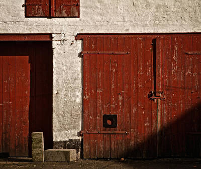 Portal Photograph - Red by Odd Jeppesen