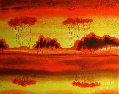 Red Planet Original by Leon Zernitsky