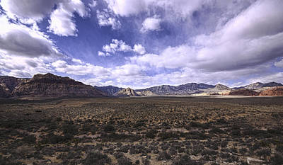 Red Rock Canyon Nevada Print by Mike Herdering