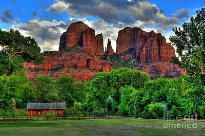 Red Rock Crossing State Park Sedona Print by K D Graves