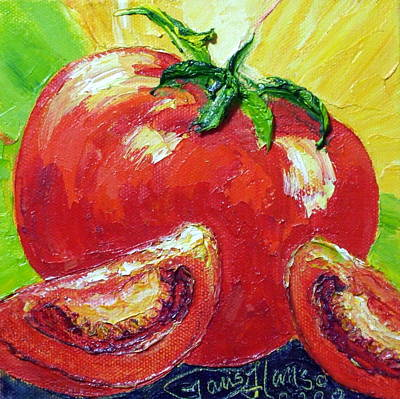 Red Tomato II Print by Paris Wyatt Llanso