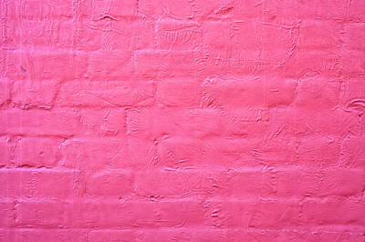 Brick Buildings Photograph - Red Wall by Tom Gowanlock