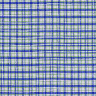Red White And Blue Plaid Fabric Background Print by Keith Webber Jr