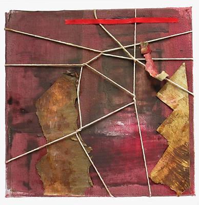 Red Wrapture Original by Susan Parise