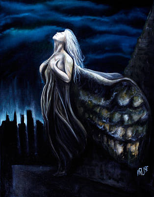 Night Angel Painting - Redemption by James Kruse