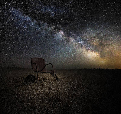 Chairs Digital Art - Redneck Planetarium by Aaron J Groen