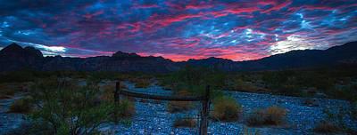 Nevada Photograph - Redrock Nevada Desert by Timothy Denehy