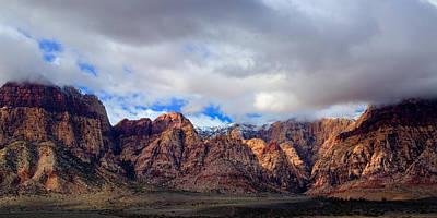 Nevada Photograph - Redrock Nevada by Timothy Denehy