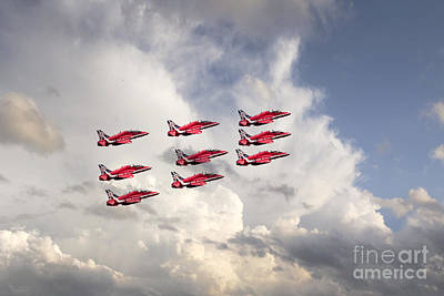 Military Digital Art - Reds Depart  by J Biggadike