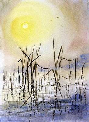 Reeds Painting - Reeds by Sam Sidders