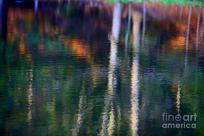 Adela Photograph - Reflected In The Water by Adela Kitty