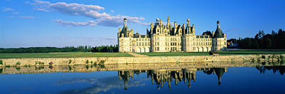 Chateau Photograph - Reflection Of A Castle On Water by Panoramic Images