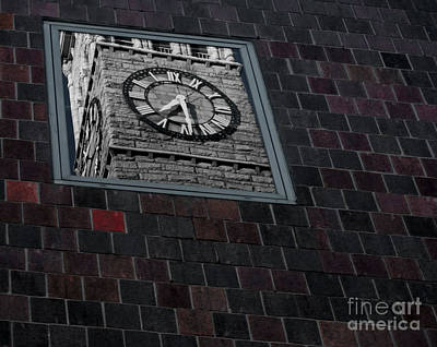 Reflection On Time Print by James Aiken