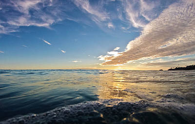 Reflections Print by Andrew Raby