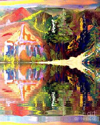 Reflections  Print by Deborah Montana