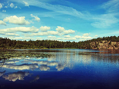 Skyscapes Photograph - Reflections Of Nature by Nicklas Gustafsson