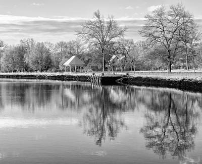 Reflections On Thanksgiving Print by WALL Photography and Design