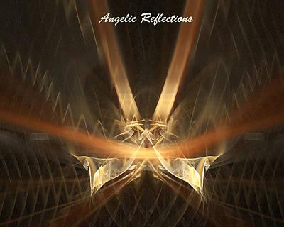 Digital Art - Reflections by R Thomas Brass