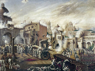 Liberal Painting - Reform War Guadalajara by Granger