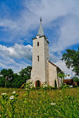 Reformed Church From Remetea Original by Ovi D Pop