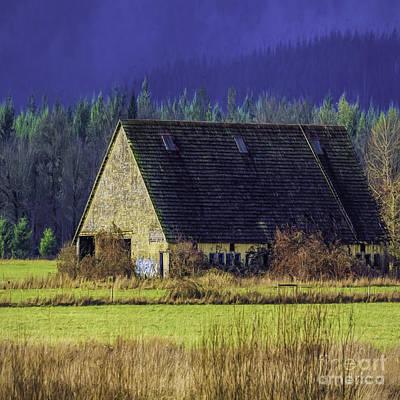 Nature Photograph - Refuge Barn by Jean OKeeffe Macro Abundance Art