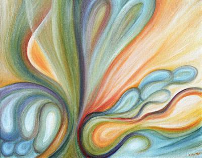 Regeneration Print by Judith Chantler