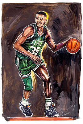 Reggie Lewis Twenty Years Gone By.... Print by Dave Olsen