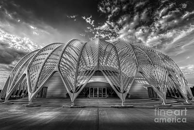 Construction Photograph - Reinforced Technology - Bw by Marvin Spates