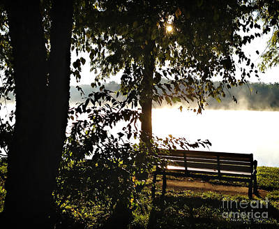 Relax And Enjoy The View Print by Nancy E Stein