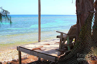 Islamorada Photograph - Relax Porch by Carey Chen