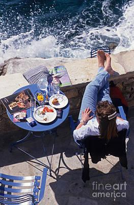 Greek Photograph - Relaxing In Hydra Island by George Atsametakis