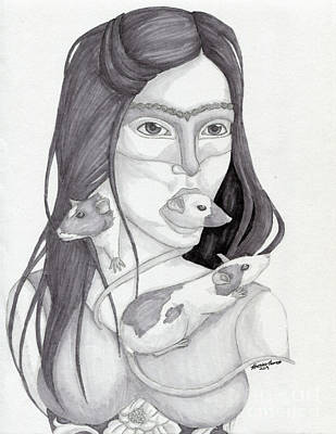 Release The Inner Spirit Print by Kirsten Thomas