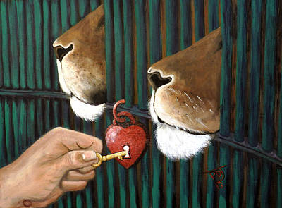 Lion Of Judah Painting - Releasing The Apostolic-setting Free The Captives by Pamorama Jones