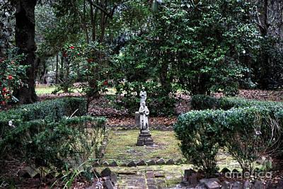 Religious Artist Photograph - Religion In The Garden by John Rizzuto