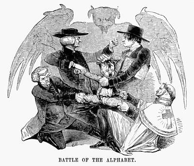 Religious Dissenters, 1843 Print by Granger
