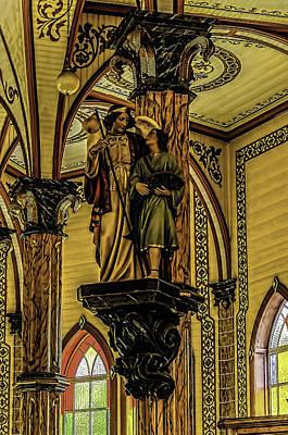 Religious Statue Print by Myer Bornstein