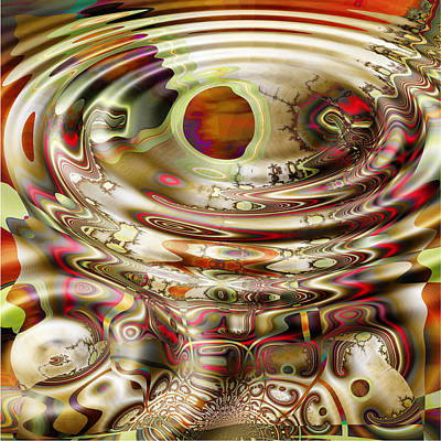 Wendy J. St. Christopher Digital Art - Rem Dreams by Wendy J St Christopher