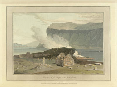 Landscape Of The Year Photograph - Remains Of The Chapel On Inch Kenneth by British Library