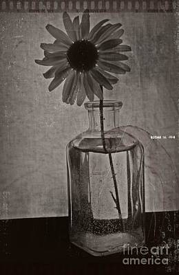 Aster Mixed Media - Remember Bw Vintage 6 by Chalet Roome-Rigdon