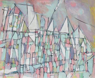 Hari E. Thomas Painting - Remembering Amsterdam 2 by Hari Thomas