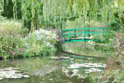Remembering Monet  Print by Olivier Le Queinec