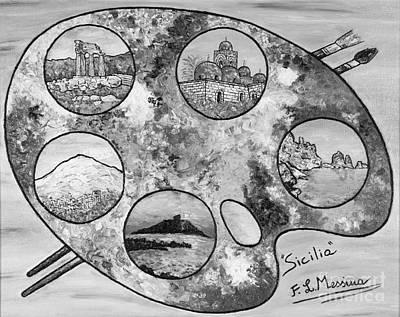 Remembering Sicily Print by Loredana Messina