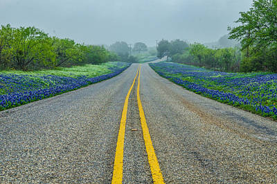 Remembering Spring In Texas Print by Jeffrey W Spencer