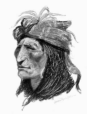 Remington Creek Man, C1906 Print by Granger