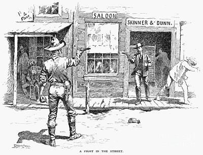 Remington: Duel Print by Granger