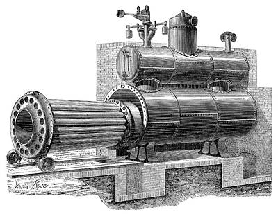 Removable-furnace Boiler Print by Science Photo Library