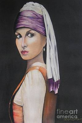 Alluring Painting - Renaissance by Kaye Miller-Dewing