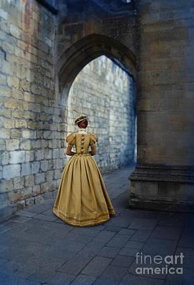 Ball Gown Photograph - Renaissance Lady by Jill Battaglia